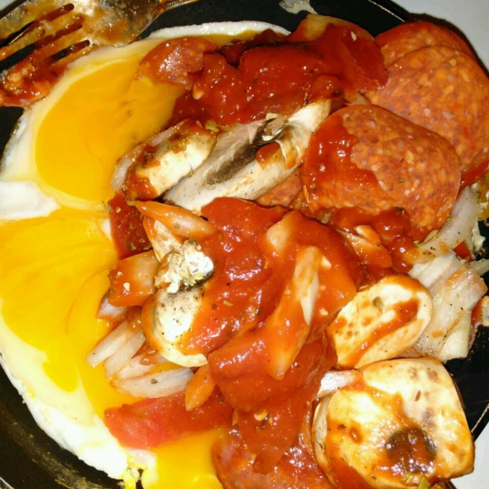 Pepperoni Pizza Omelet Taylor Morgan Plascencia