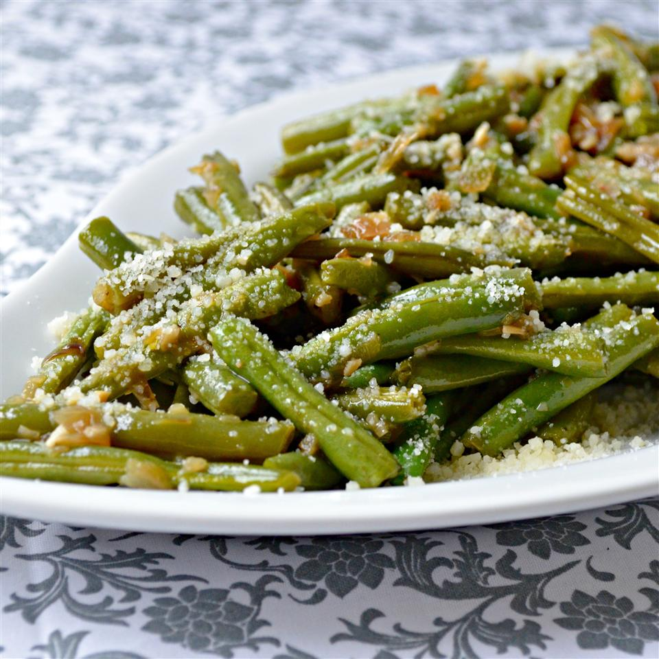 Garlicky Green Beans with Shallot Kim's Cooking Now