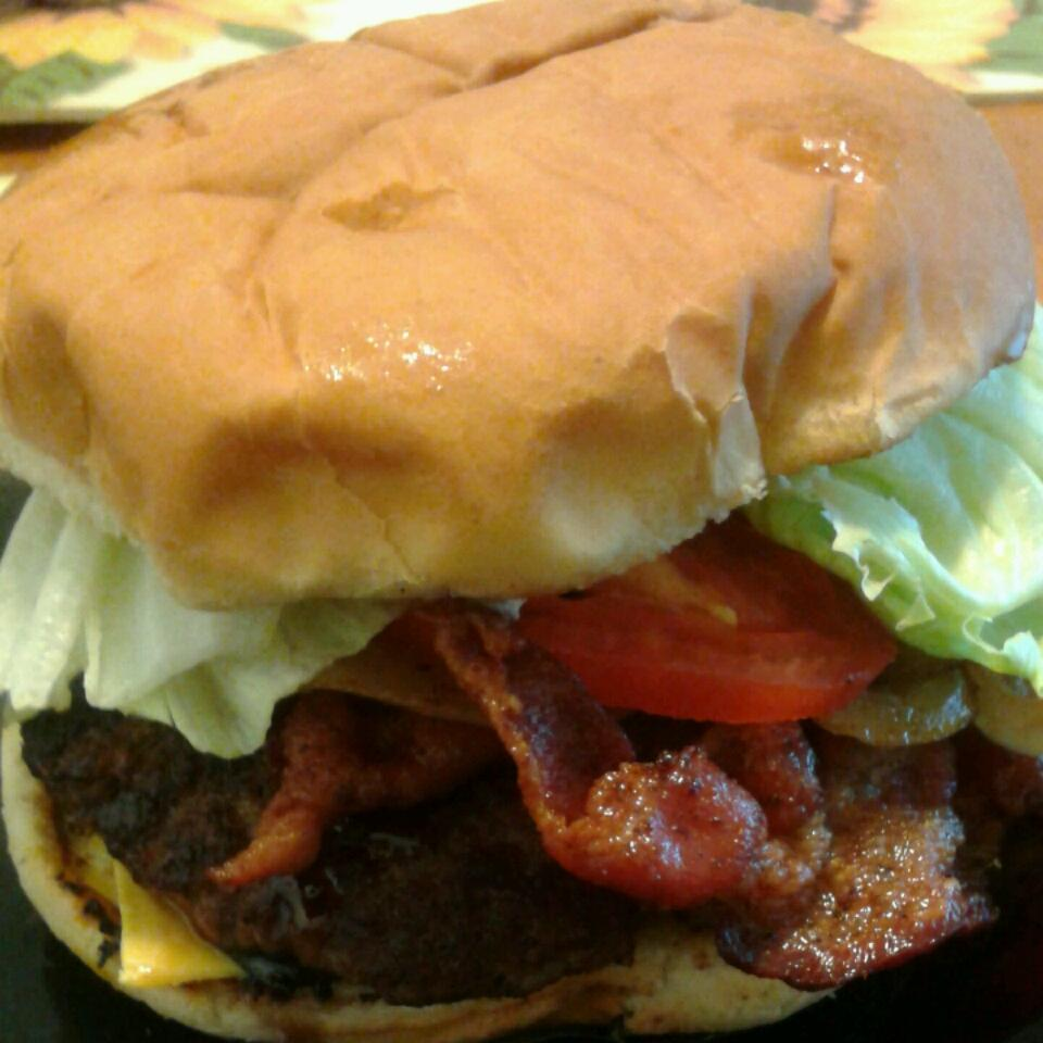Bacon Cheeseburgers Victoria Harvis