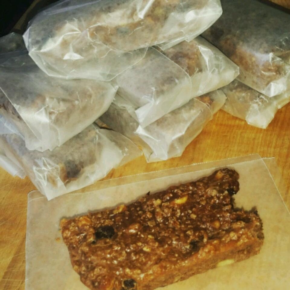 Banana Oatmeal Protein Bars Victor Irias Jr
