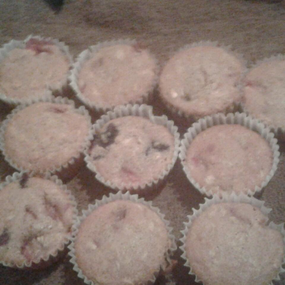 Whole Wheat Oatmeal Strawberry Blueberry Muffins Melanie Morgan