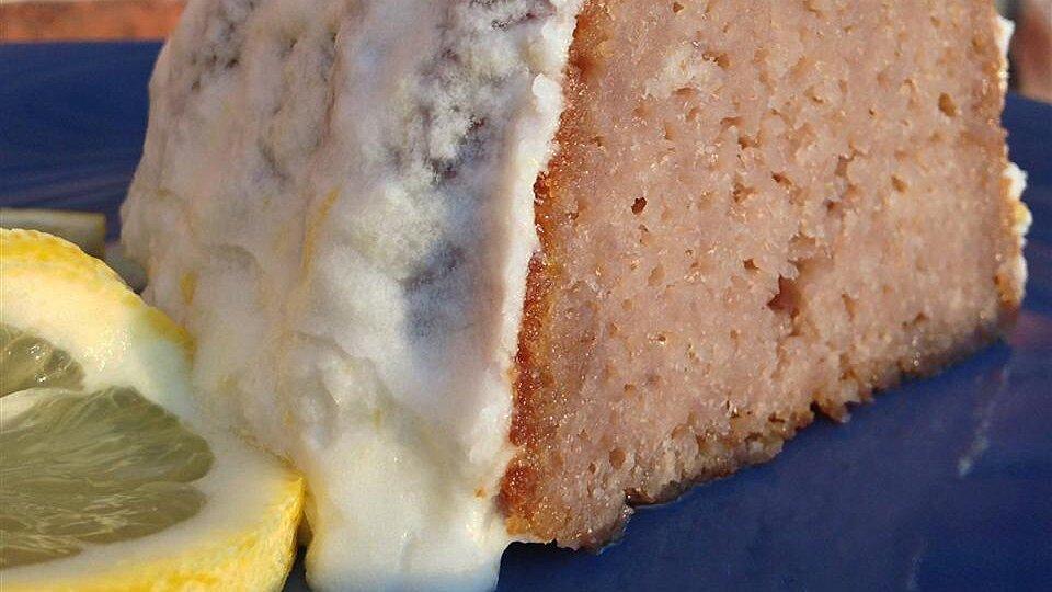 Super Moist Raspberry Lemon Cake