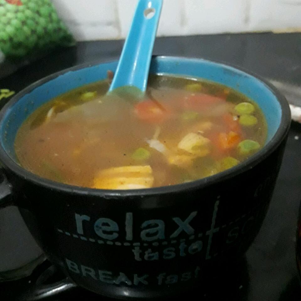 Shrimp Noodle Soup