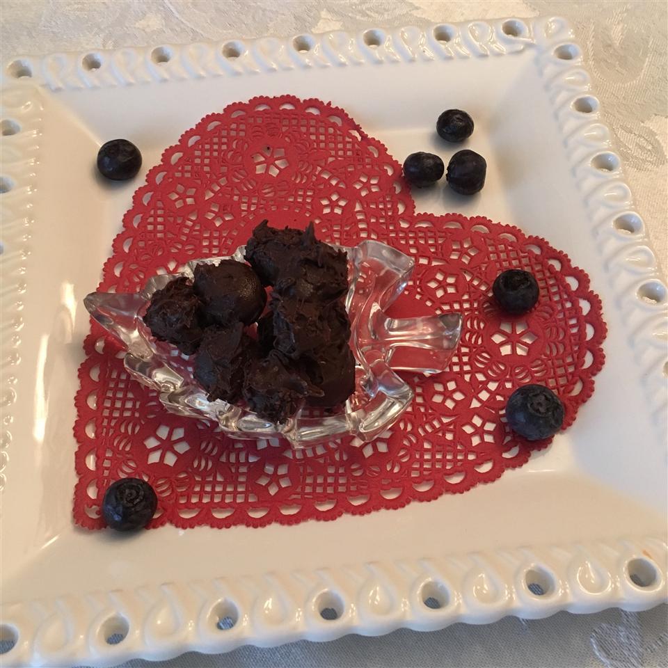 Chocolate Covered Blueberries Paula