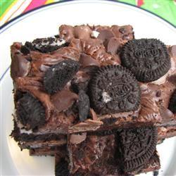 Double Chocolate Cookie Bars nilla