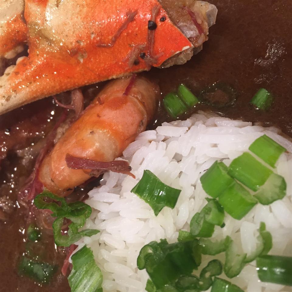 Chef John's Duck, Sausage, and Shrimp Gumbo BIG BOY