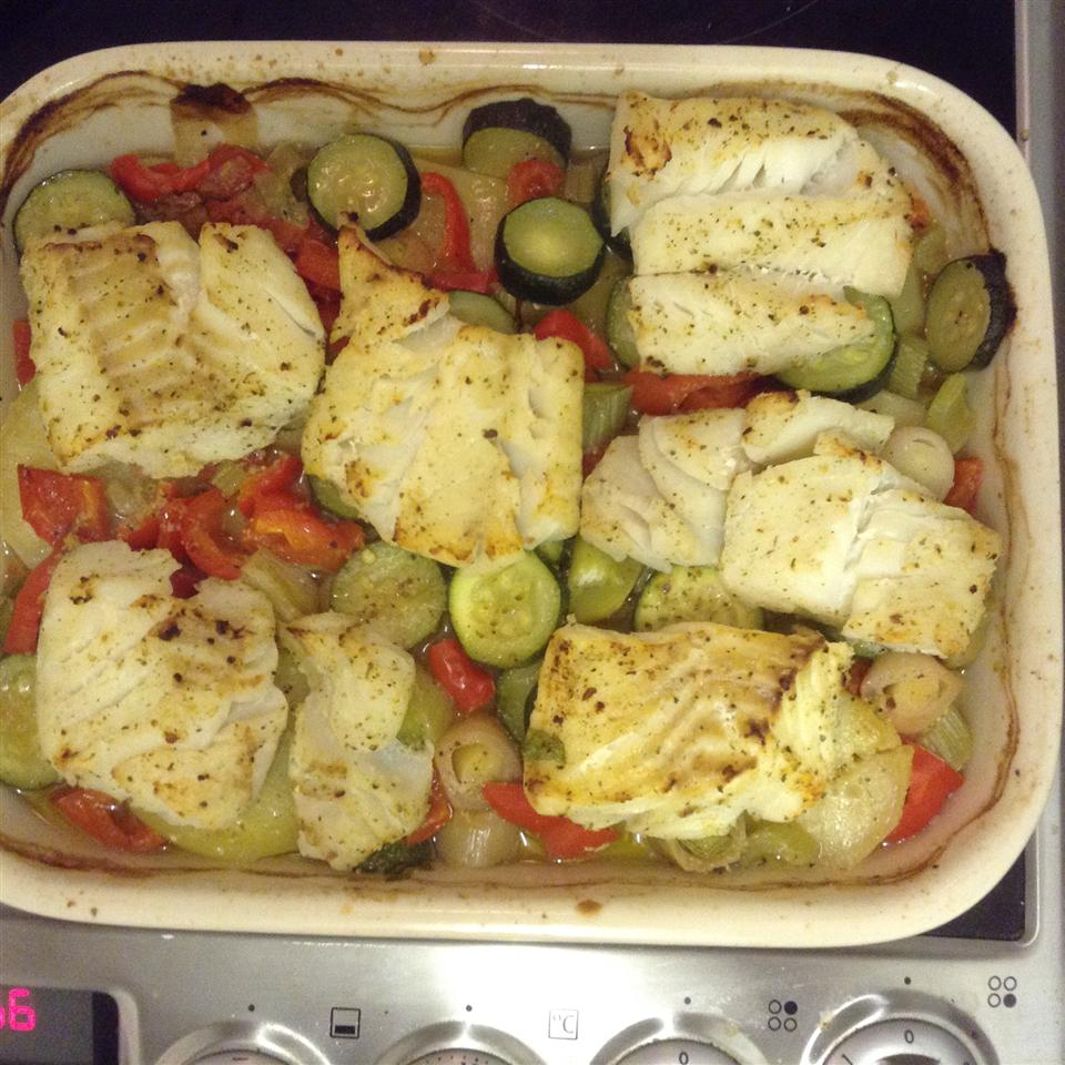Baked Fish Dinner For Two Naida Maskell