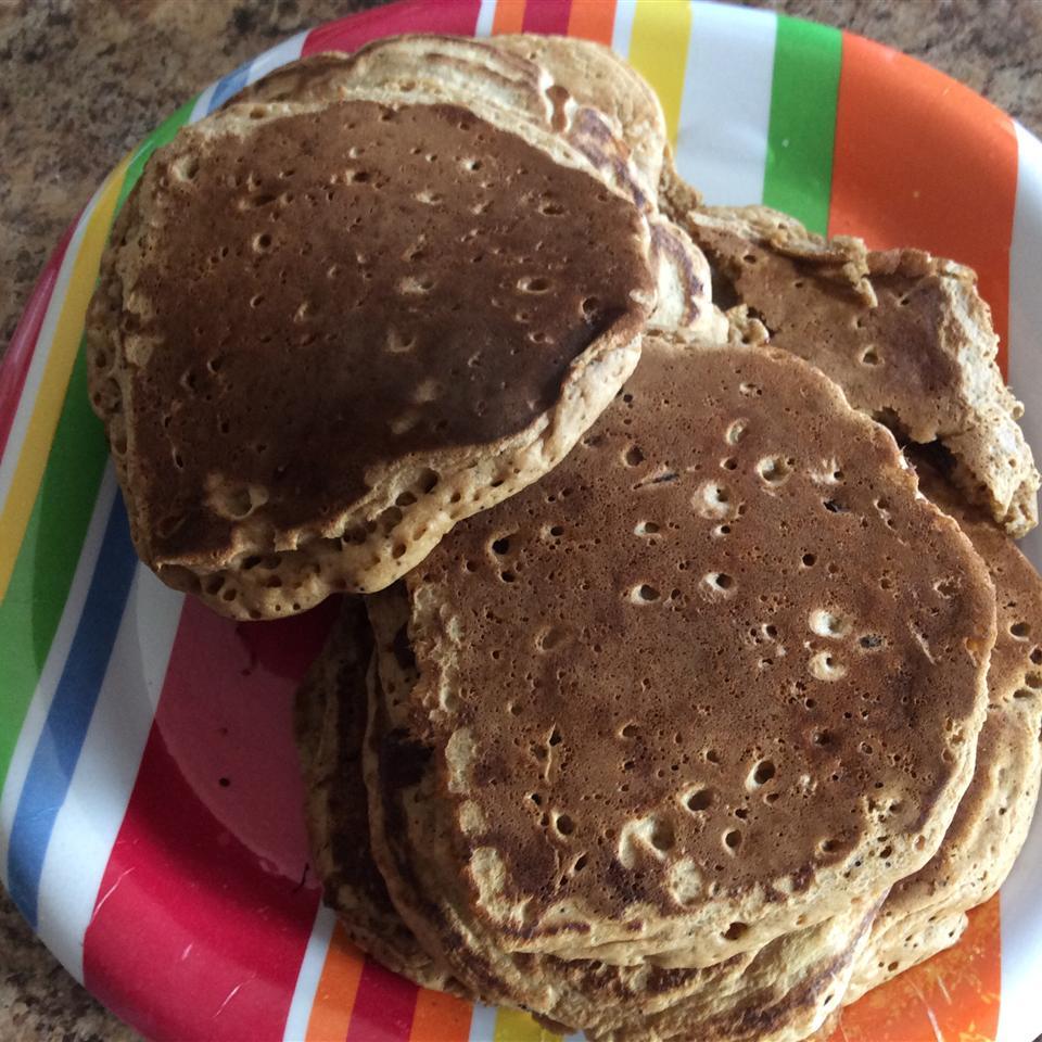 Whole Wheat Chocolate Chip Pancakes Alane Horner