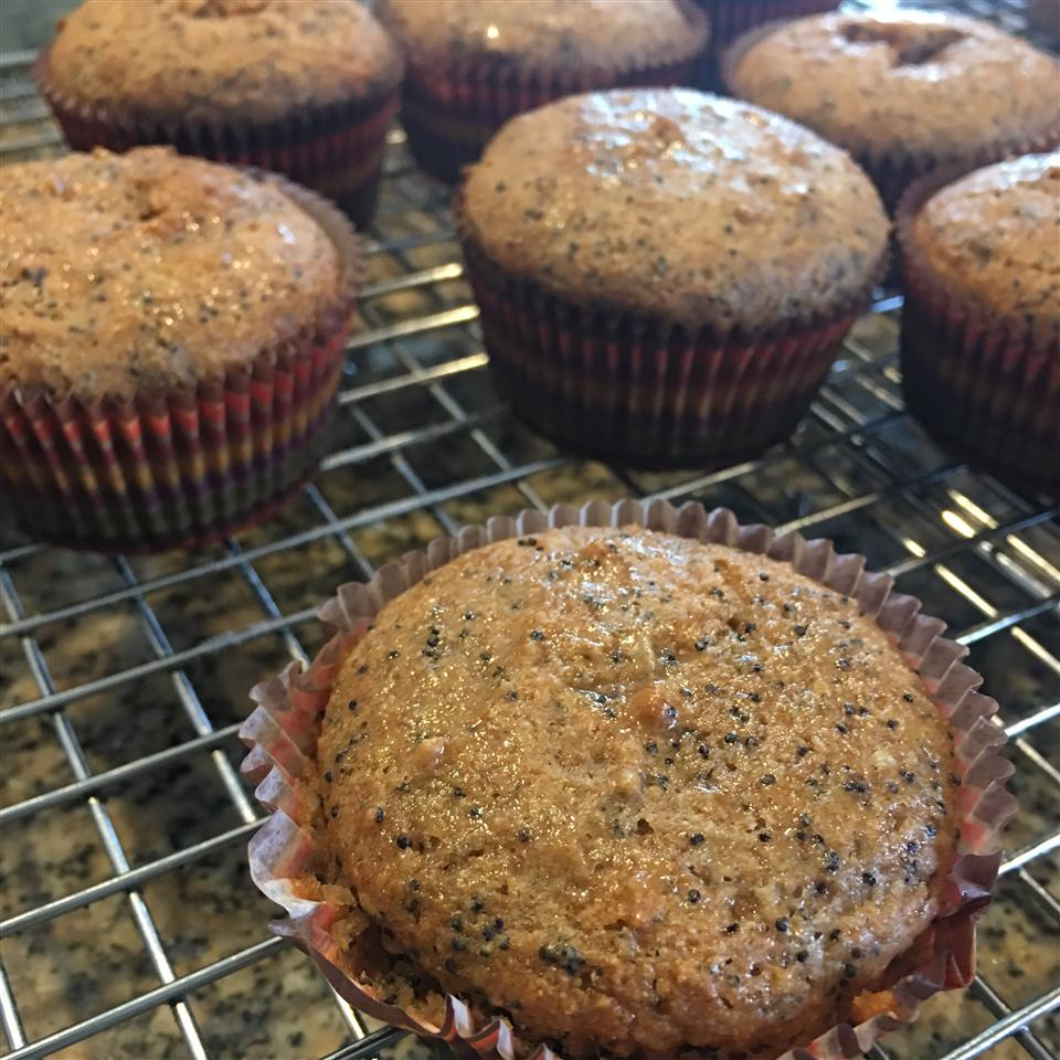 Lemon Poppy Seed Muffins I jigna maniar