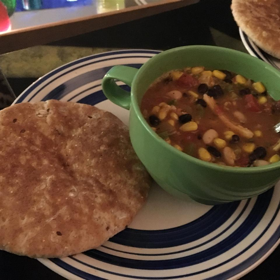 Hearty Chicken Tortilla Soup with Beans Elias Contreras