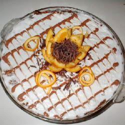 Orange-Chocolate Twist Cheesecake