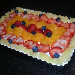 White Chocolate Fruit Tart TheBritishBaker