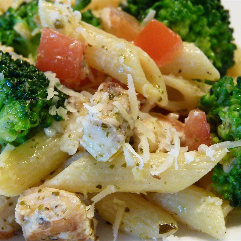 Pasta, Broccoli and Chicken babyaimeesmom