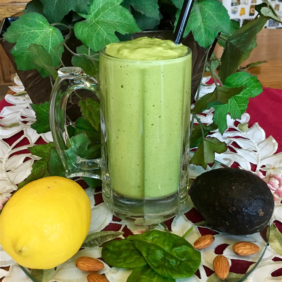 Lemon Spinach Mint Smoothie Zoe