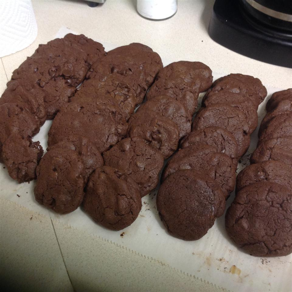Chocolate Chocolate Chip Cake Cookies Michael C. Medley