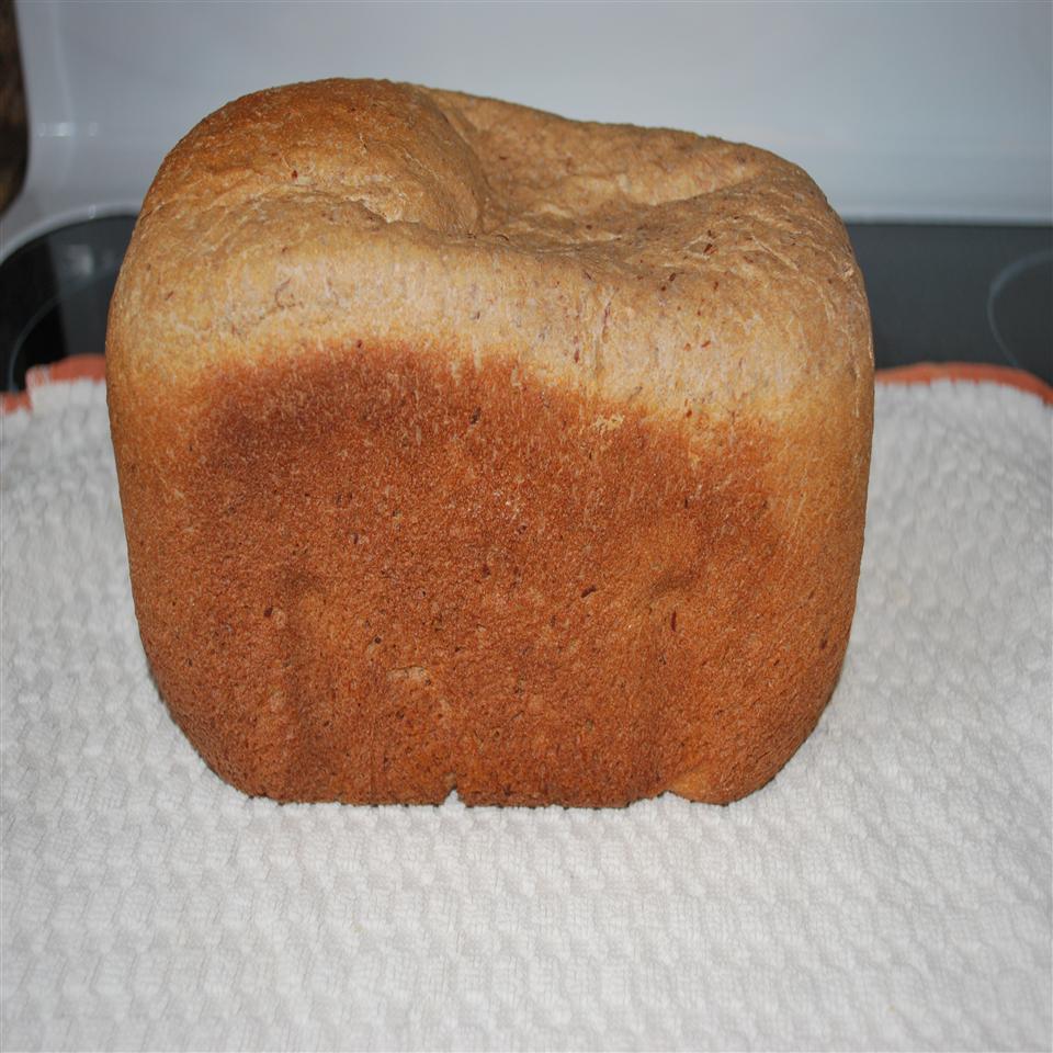 Bread Machine Honey-Whole Wheat Bread
