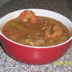 Shrimp Gumbo with Okra