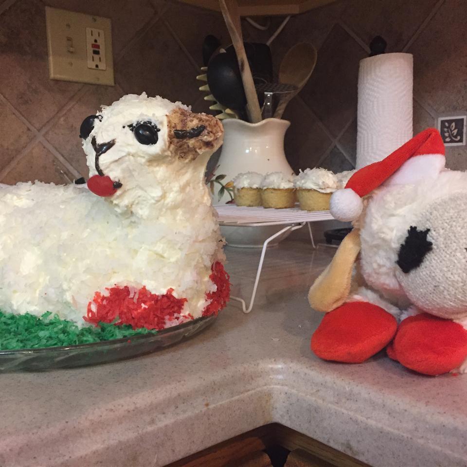 Easter Lamb Cake I Dwight Egbert