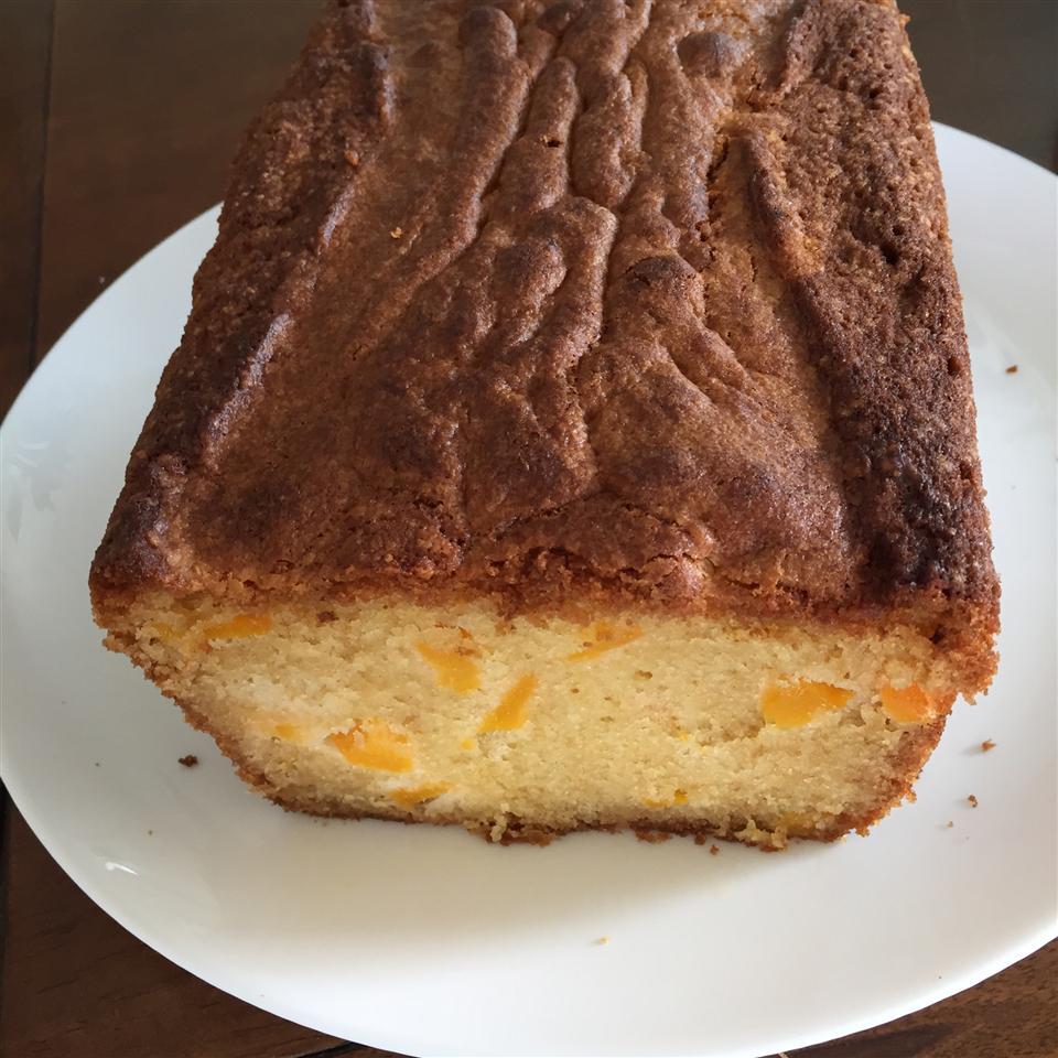 GA Peach Pound Cake