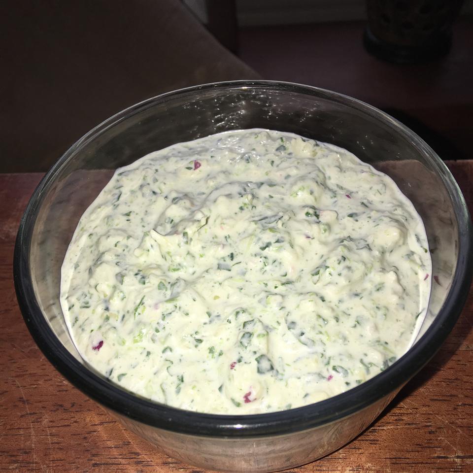 Amazing No Cook Spinach Artichoke Dip kdog