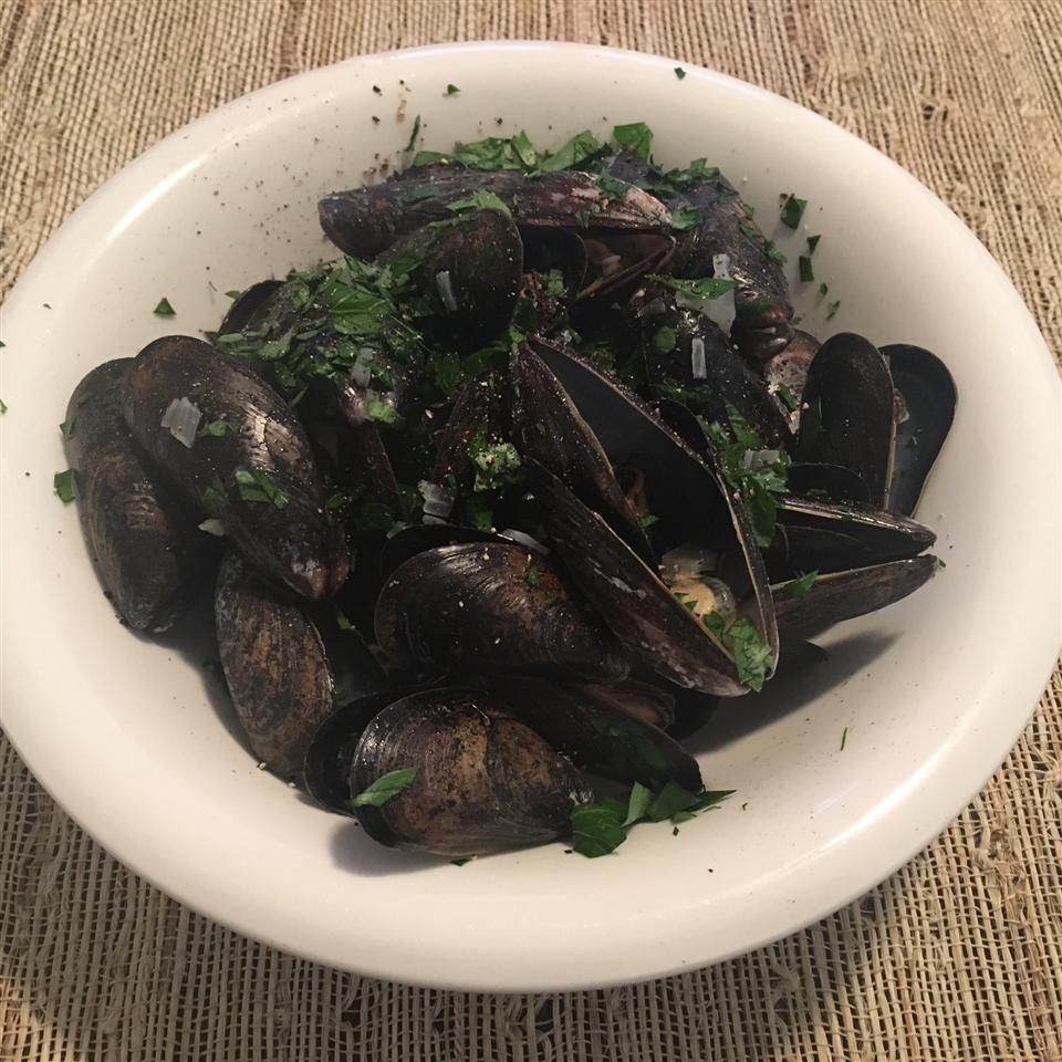 Steamed Mussels II