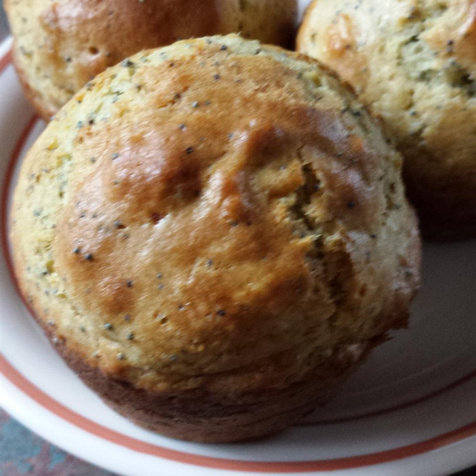 Lemony Poppy Seed Muffins