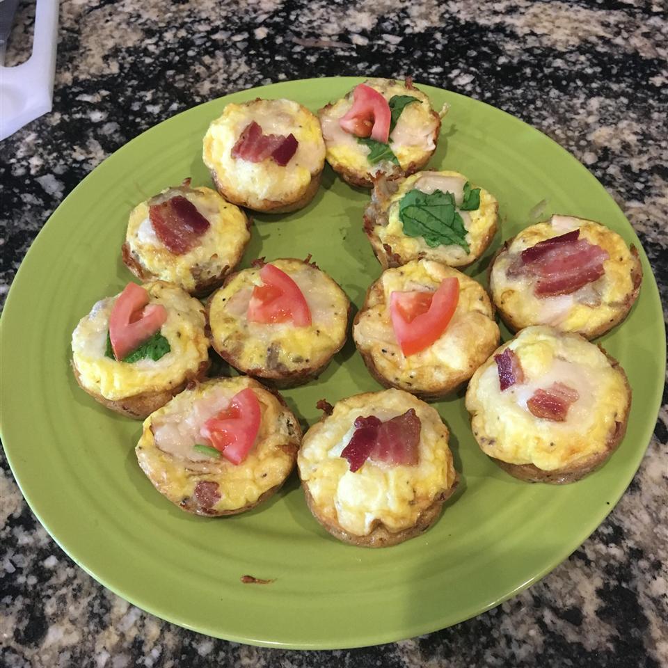 Bird's Nest Breakfast Cups Kathleen Robertson