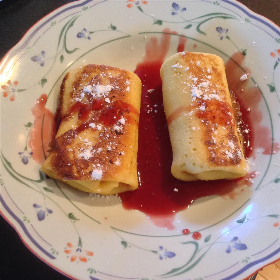 Chef John's Cheese Blintzes