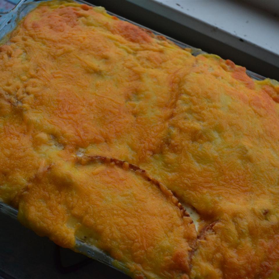 Chicken Sandwich Casserole