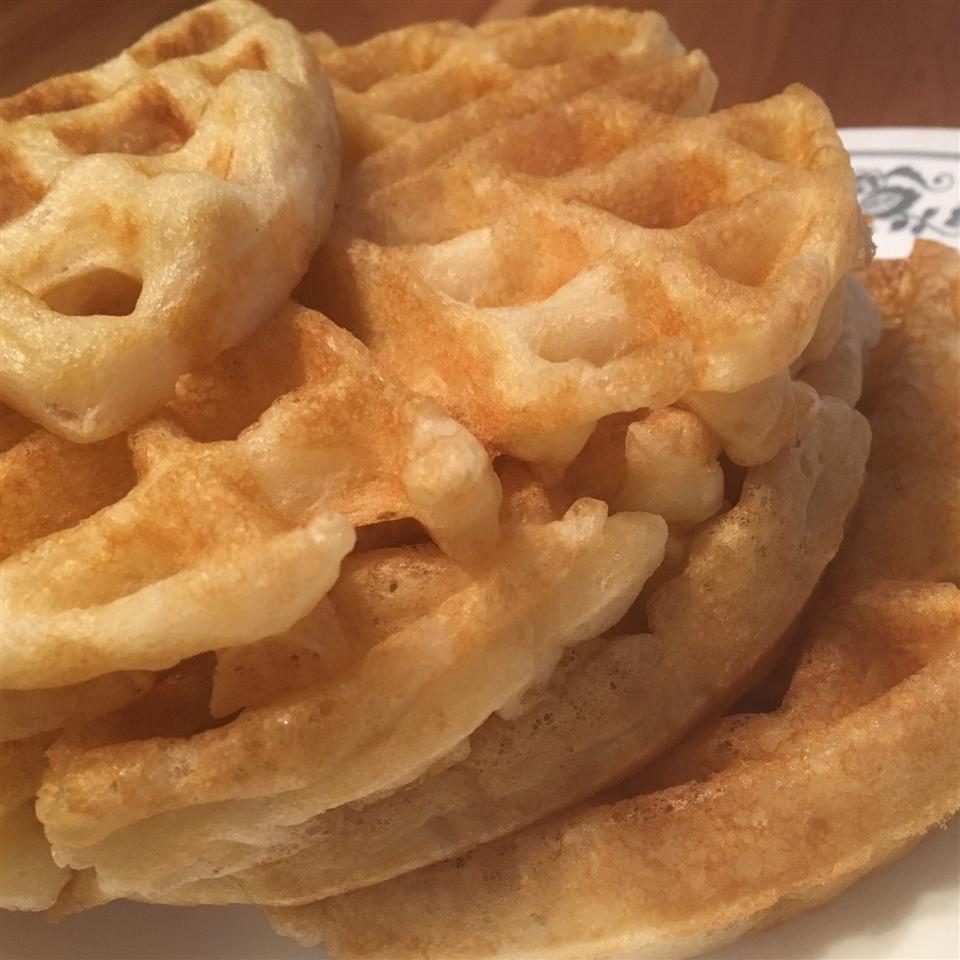 Sam's Sourdough Waffles