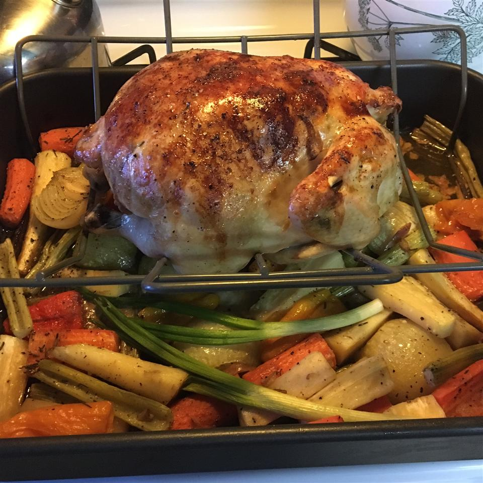 Roasted Vegetable Chicken Grace
