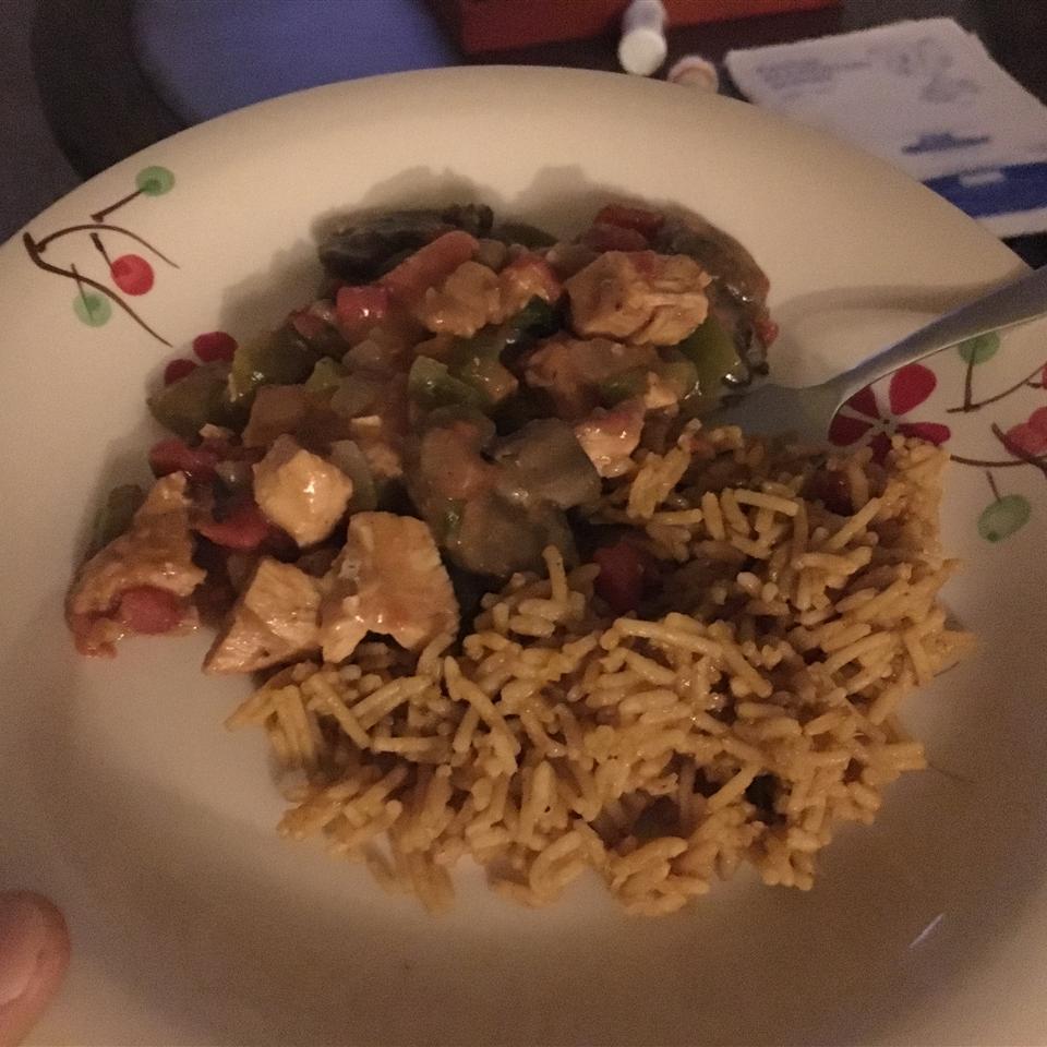Gumbo Style Chicken Creole