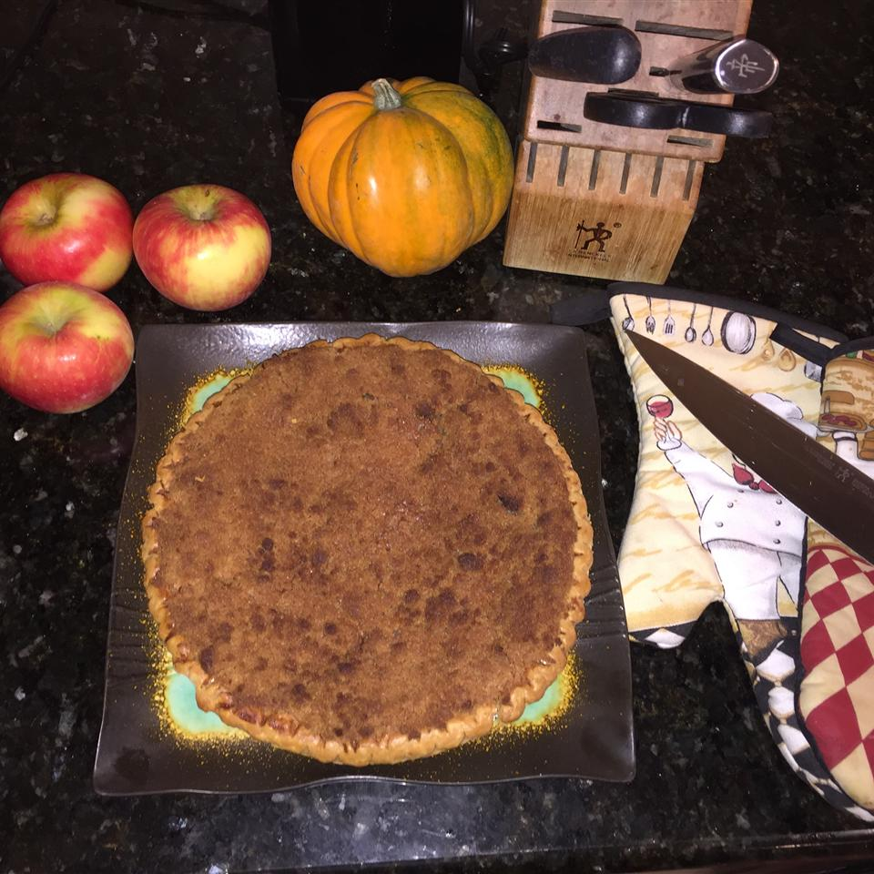 Warm Apple Buttermilk Custard Pie Chef Jombus