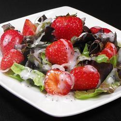 Strawberry Onion Salad bellepepper