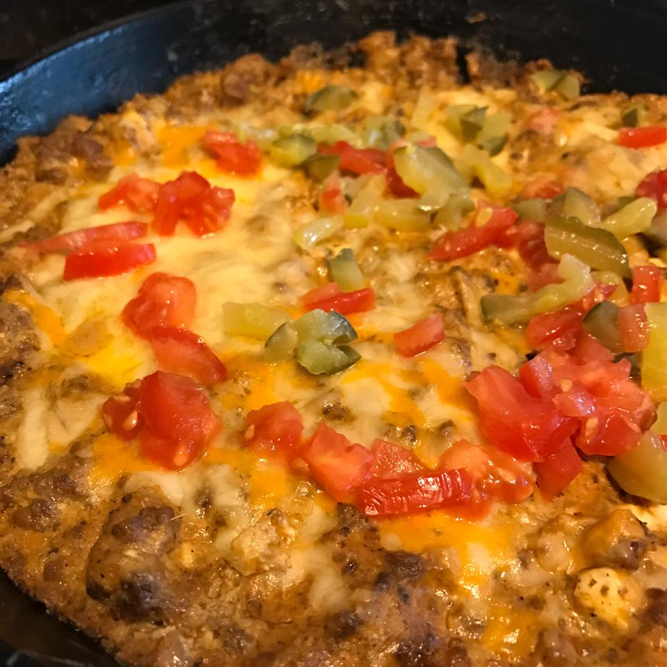 Connecticut Cheeseburger Dip Derbakermom