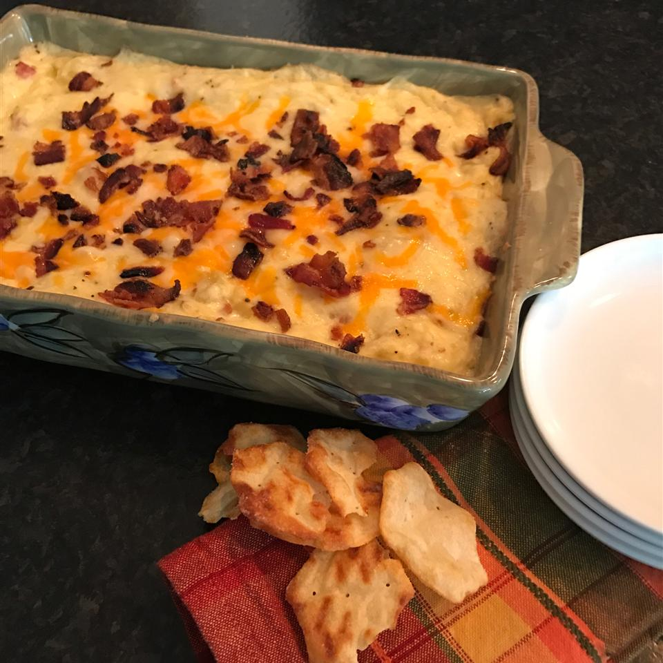 Idaho Baked Potato Dip Derbakermom
