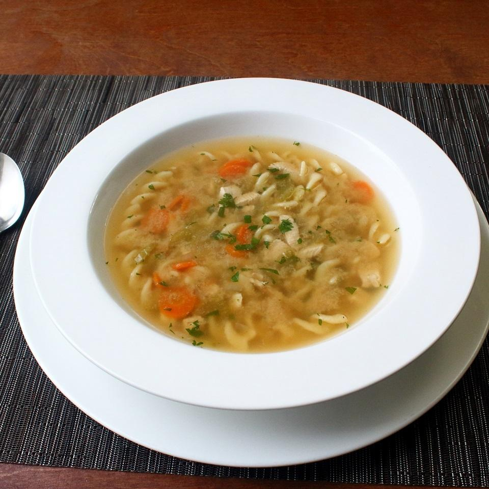 One-Step Chicken Noodle Soup