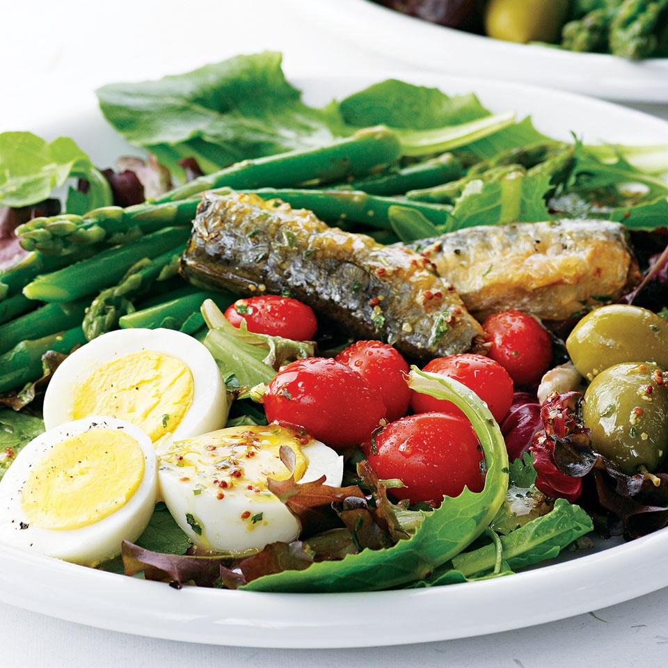 Spring Salad with Tarragon Vinaigrette EatingWell Test Kitchen