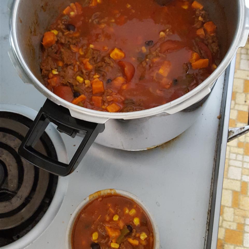 Sweet Potato Chili Paul Hallmark