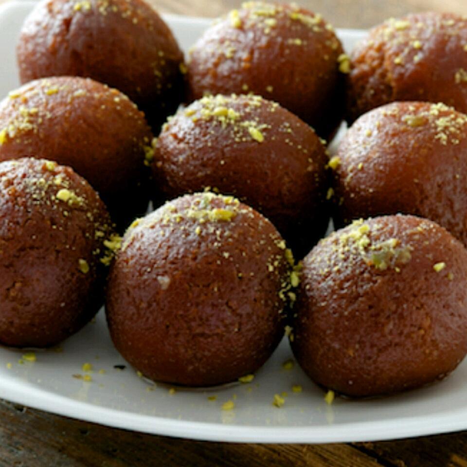 Gulab Jamun or Kala Jam (Waffle Balls)