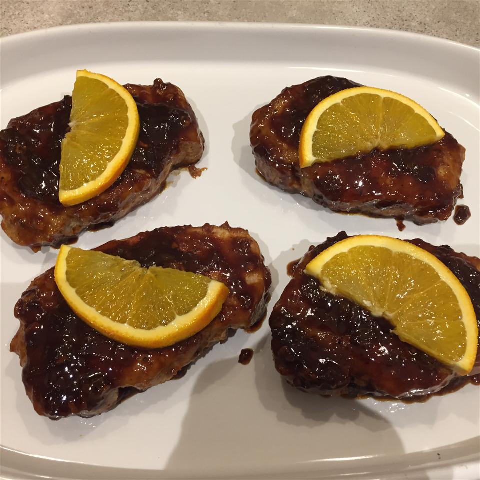 Orange Shallot Marsala Pork Chops SPEEDNUT