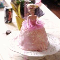 Barbie Doll Cake JeanieMomof3