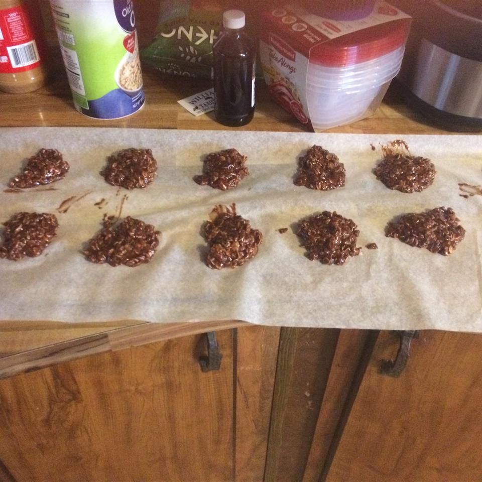 No Bake Chocolate Peanut Butter Cookies Toni Gunter
