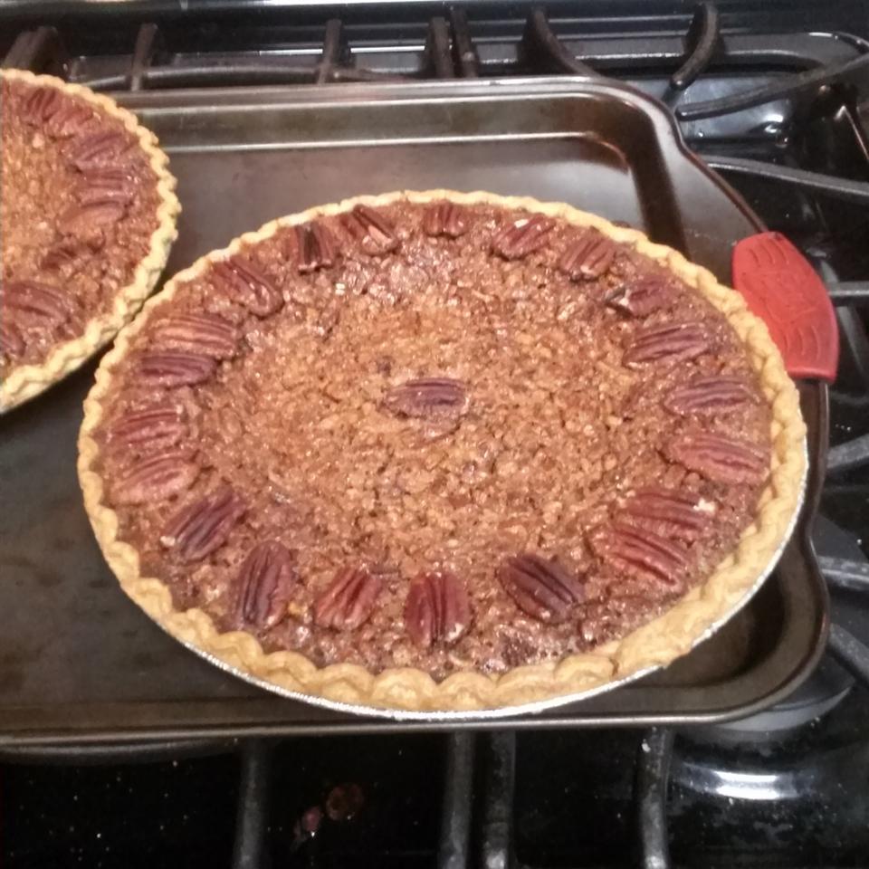 Chocolate Bourbon Pecan Pie Steve