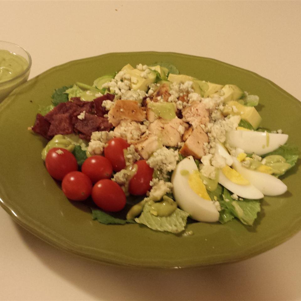 Mini Cobb Salad with Avocado Dressing Casablancaise
