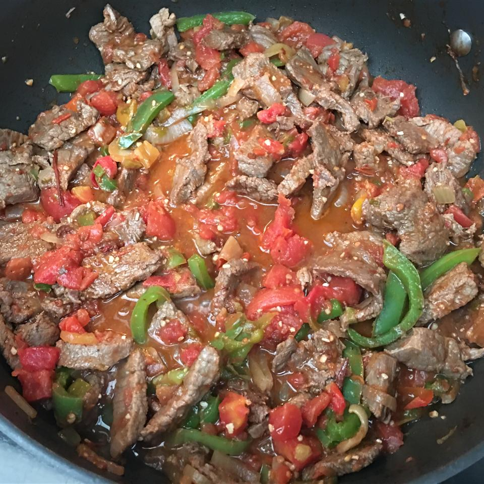 Spicy Beef Fajitas Chef Roy