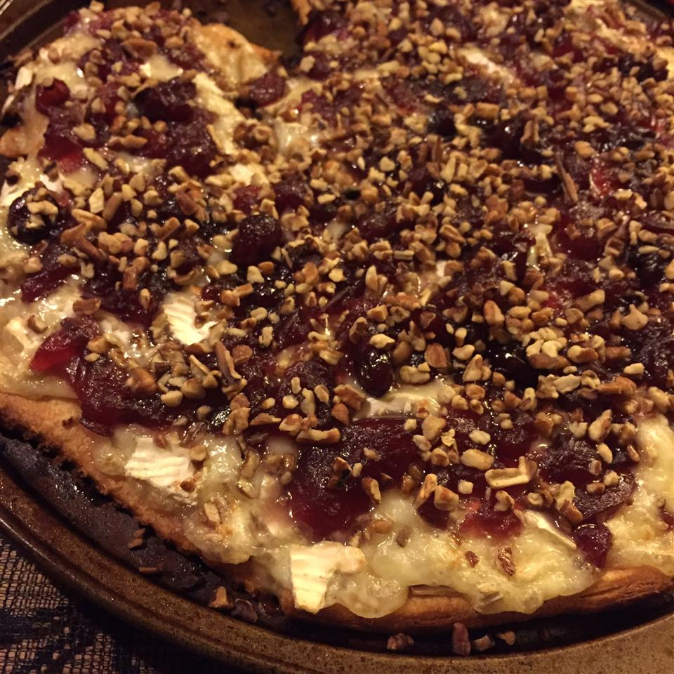 Brie and Cranberry Pizza Allison Eckfeldt