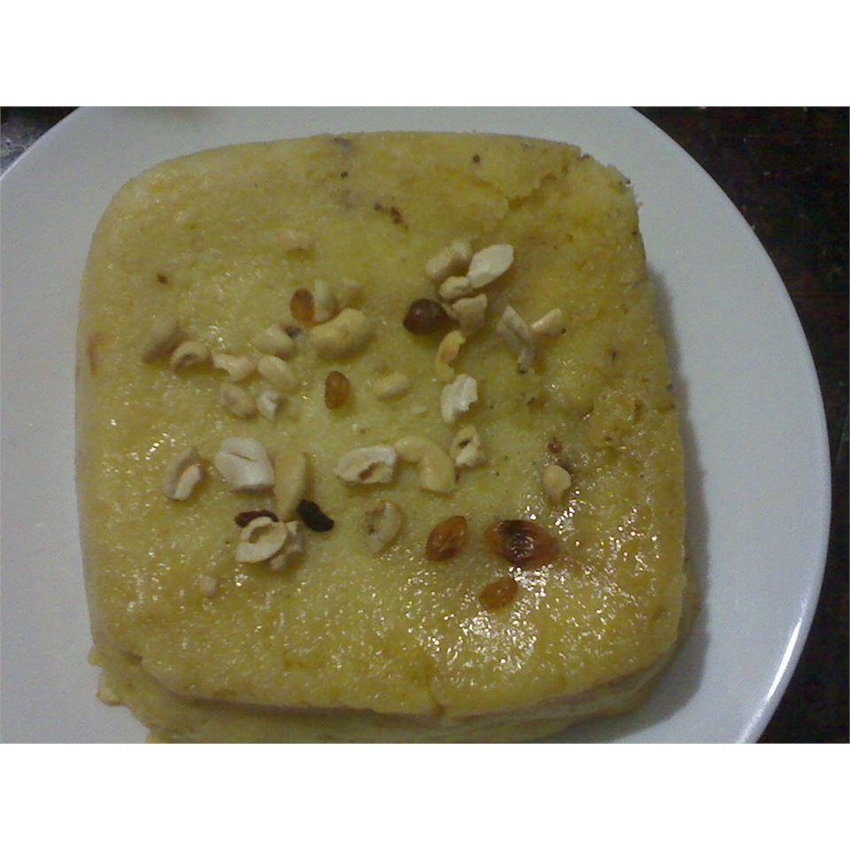 Microwave Raisin Bread Pudding saju