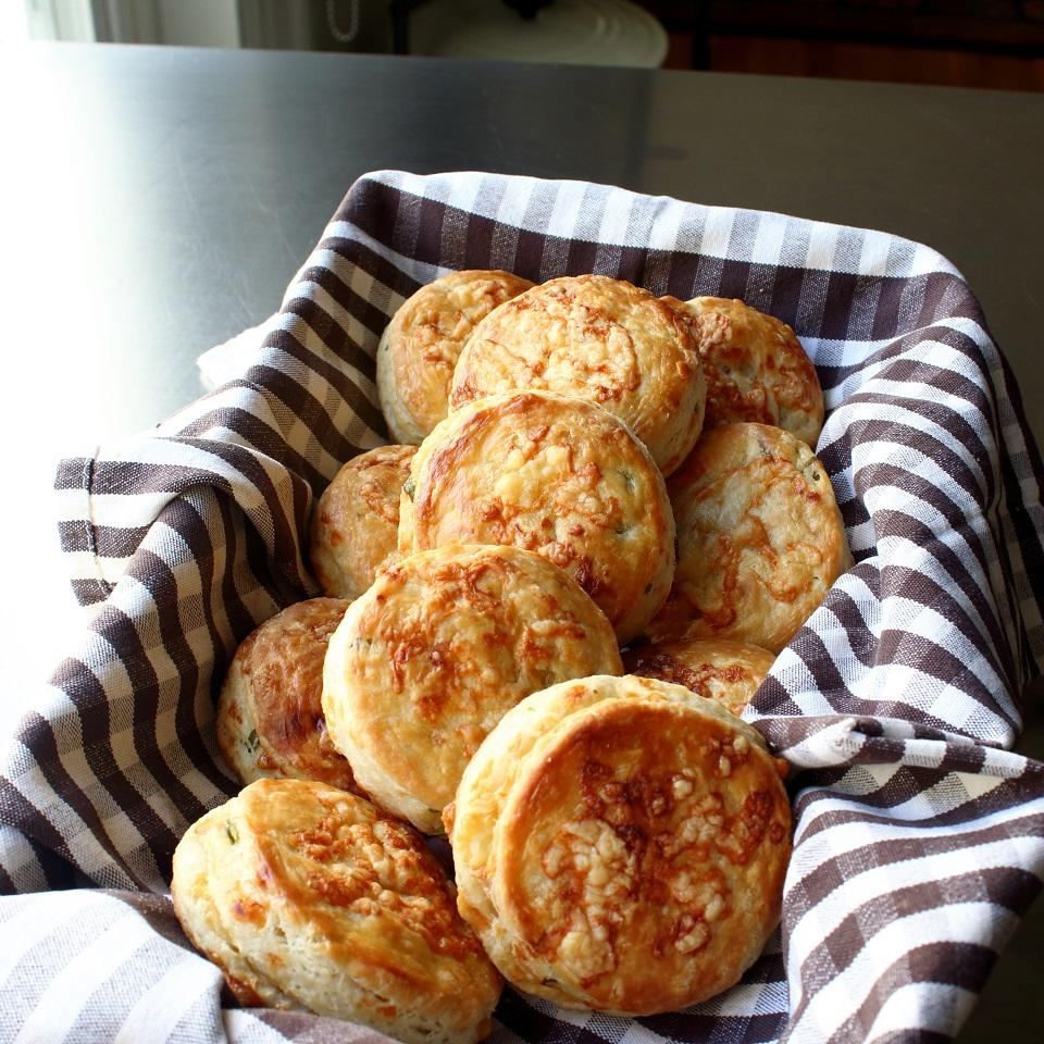Irish Cheddar Spring Onion Biscuits