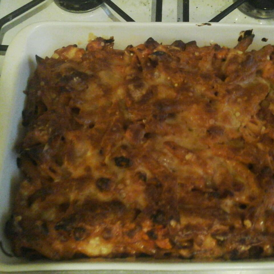 Chicken and Chorizo Pasta Bake suzanne73